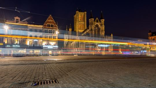 City of Gent at Night