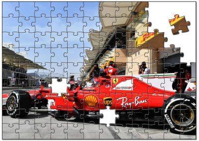 Vettel Ferrari Formula1 Bahrain