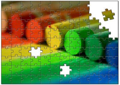 Krijtjes regenboog