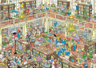 Jan van Haasteren – de Bibliotheek
