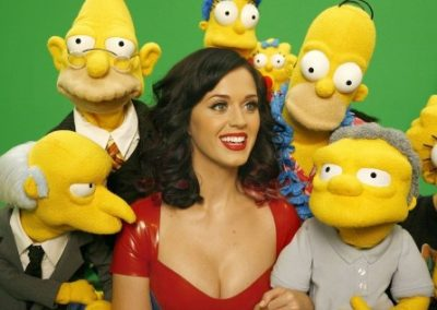 Katy Perry en de Simpsons