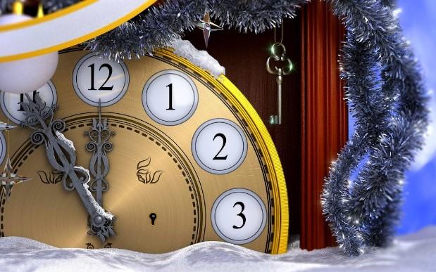 Aftellen tot het nieuwe jaar