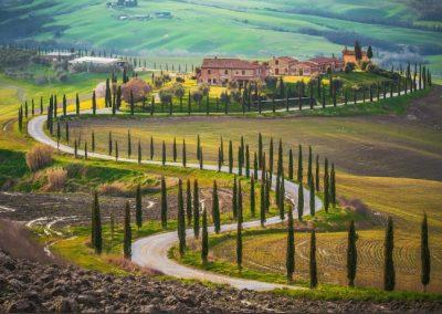 Italië Positano Tuscany