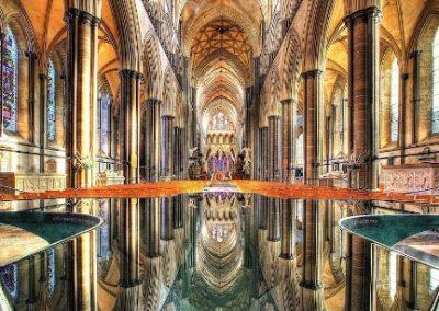 Kathedraal van Salisbury in England