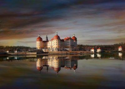 Moritzburg kasteel in Duitsland