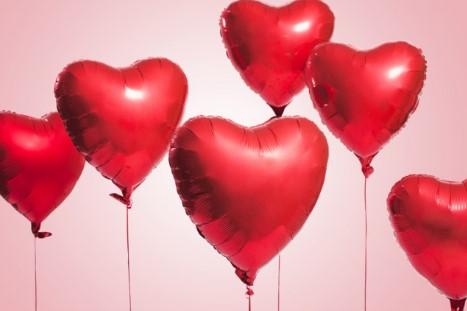Valentijn ballonnen