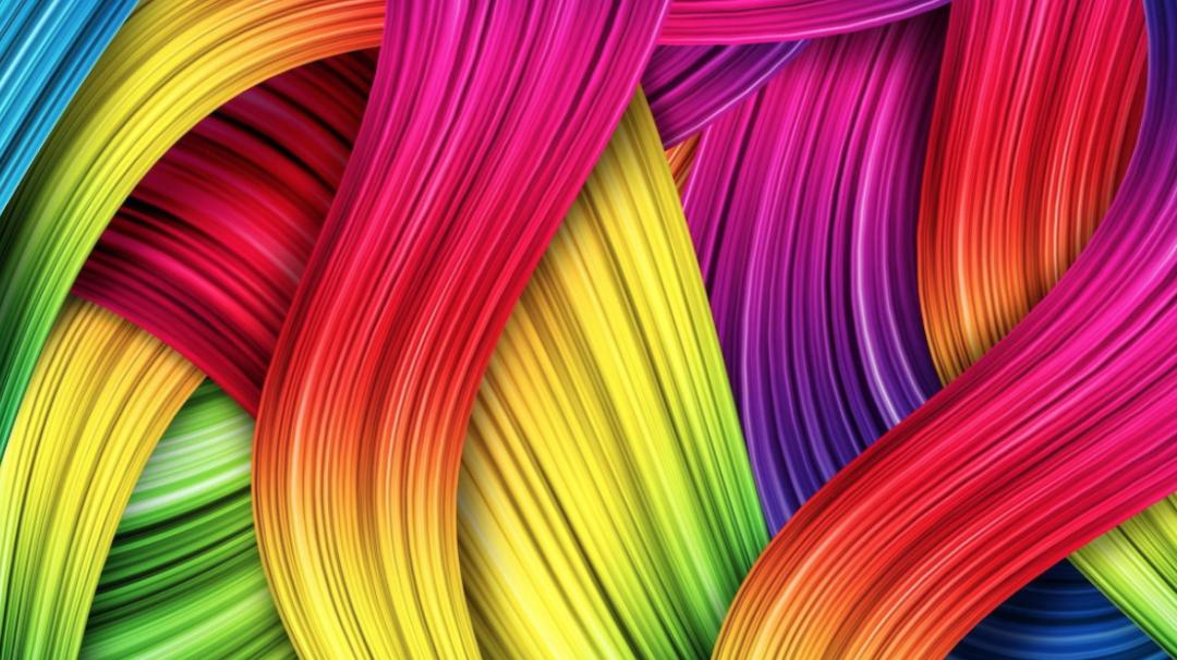 Kleurrijke strepen