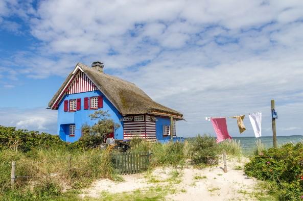 Gezellig strandhuis